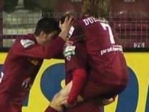 Repetiţie pentru meciul cu PSV. Gloria Bistriţa - CFR Cluj 0-2, cu Gabi Mureşan înger şi demon
