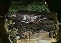 Vehicul înmatriculat în România, implicat într-un accident în Ungaria
