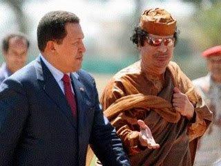 """Chavez şi Gaddafi, cei mai buni prieteni. Libia şi Venezuela au """"acelaşi inamic"""""""