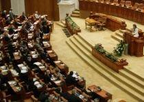 Şedinţa Parlamentului destinată referendumului cerut de Băsescu, boicotată de PSD şi PNL