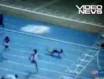Ghinion. Plonjon cu faţa în pământ la cinci metri de linia de sosire a cursei (VIDEO)