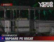 Nave de 400.000 de euro, în paragină pe lacul Herăstrău (VIDEO)