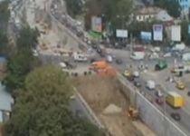 Traficul rutier în zona pasajului Băneasa, restricţionat între 10 octombrie şi 10 noiembrie (VIDEO)