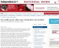 Româncă sechestrată şi forţată să se prostitueze, în Irlanda
