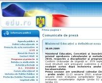 Înscrierile pentru examenul de Bacalaureat 2010 se vor face între 14 şi 18 decembrie