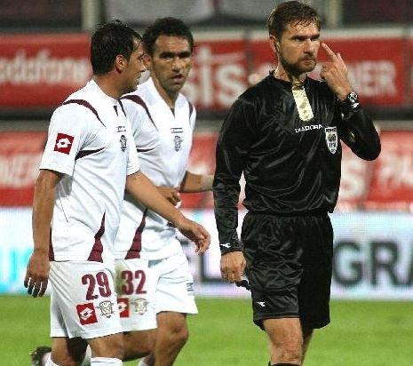 Alexandru Tudor, reţinut de la delegări după prestaţia de la Rapid - CFR Cluj