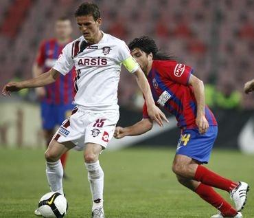 Steaua - Rapid 1-1. Roş-albaştrii nu au mai bătut rivala bucureşteană în Ghencea din 2002