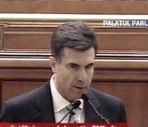 Premierul desemnat Lucian Croitoru recită versuri de Lucian Blaga, în Parlament (VIDEO)