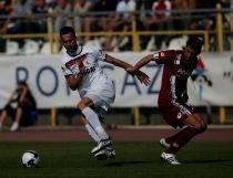 Rapid învinge Gaz Metan Mediaş cu 4-1, cu preţul accidentării lui Bornescu