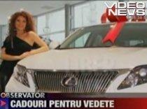 Elena Gheorghe a primit cadou o maşină de 80.000 de euro, dar nu are permis de conducere (VIDEO)