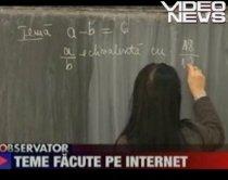 Meditaţii online: Temele la matematică, rezolvate de un profesor pe internet (VIDEO)