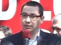 Ponta: Luna aceasta depunem moţiunea de cenzură împotriva Guvernului Boc (VIDEO)