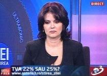 Ştirea Zilei: TVA 22% sau 25%?