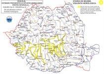 Cod Roşu de vijelii în Ungaria şi Polonia. În România, Codul Galben de ploi şi vânt a intrat în vigoare