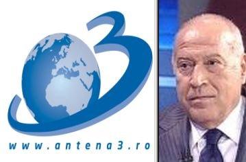 Antena3, lider de piaţă luni seară cu Ştirea Zilei avându-l ca invitat pe senatorul Dan Voiculescu