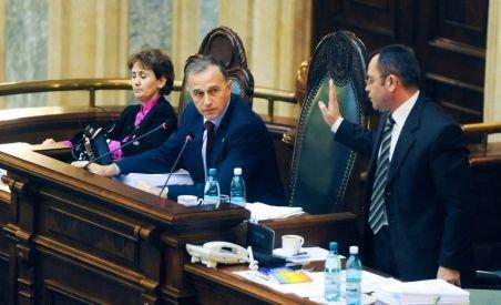Geoană a convocat Biroul Permanent al Senatului pentru luni