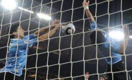 Doar un meci de suspendare pentru Suarez, după henţul grosolan din meciul cu Ghana