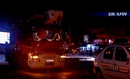 Doi tineri au plonjat cu maşina în Lacul Pantelimon (VIDEO)