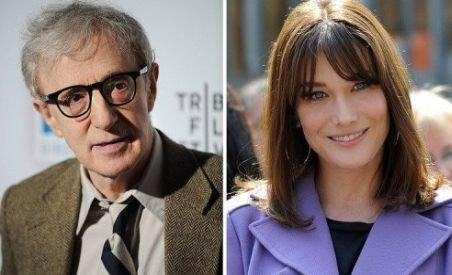 Au început filmările la pelicula lui Woody Allen în care va apărea şi Carla Bruni