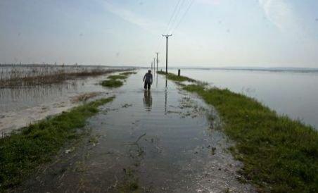 Dunărea a depăşit cote istorice în Brăila, Galaţi şi Feteşti. La Călăraşi, cota de inundaţie a fost depăşită cu 63 cm