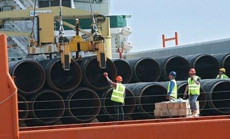 Gazoductul Nord Stream se apropie de faza finală- a ajuns pe pământ german