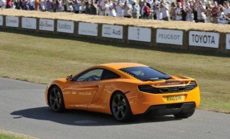 McLaren MP4-12C, prezentat public la Goodwood Festival of Speed (VIDEO)