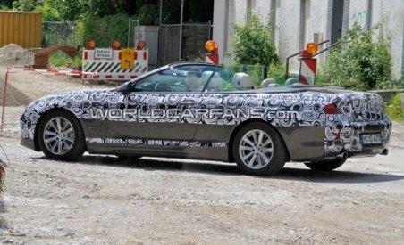BMW Seria 6 Convertible, surprins în imagini spion (FOTO)