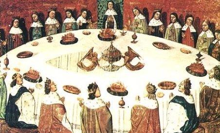 A fost descoperit locul unde se afla masa rotundă a regelui Arthur