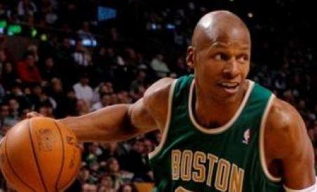 Ray Allen semnează un nou contract cu Celtics
