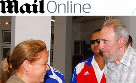 Fidel Castro s-a întâlnit cu fiica lui Che Guevara într-un parc acvatic