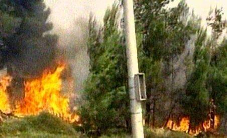 Grecia. Peste 100 de pompieri s-au luptat cu două incendii izbucnite la 40 de km de Atena (VIDEO)