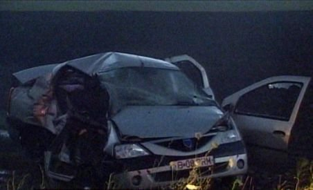 Grav accident rutier în judeţul Buzău. Trei persoane au murit, alte cinci au fost rănite