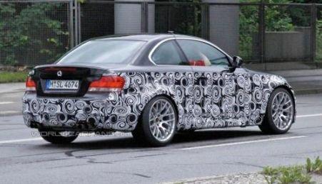 BMW Seria 1 M Coupe va fi prezentat în decembrie (FOTO)
