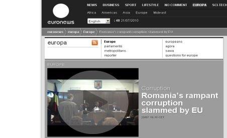 Presa străină: România a picat examenul CE pe justiţie
