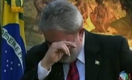 Preşedintele Braziliei a plâns în timpul unui interviu televizat (VIDEO)