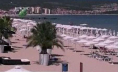 Turiştii pleacă în grup de pe litoralul bulgăresc din cauza unei pene de curent care afectează mai multe staţiuni (VIDEO)