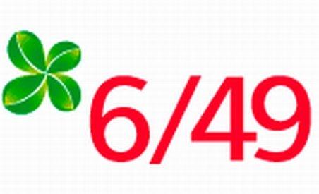 Report la Loto 6/49. Vezi numerele extrase