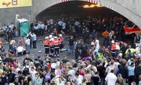 Germania. Bilanţul răniţilor de la Love Parade a crescut la 511, de la 340