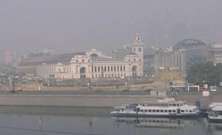 Canicula şi incendiile fac ravagii în Rusia. Moscova, afectată de poluare (VIDEO)