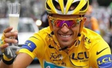 Alberto Contador, campionul Turului Franţei, a părăsit echipa Astana