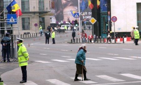 Circulaţia rutieră restricţionată pe Calea Victoriei din Capitală, de Ziua Imnului Naţional