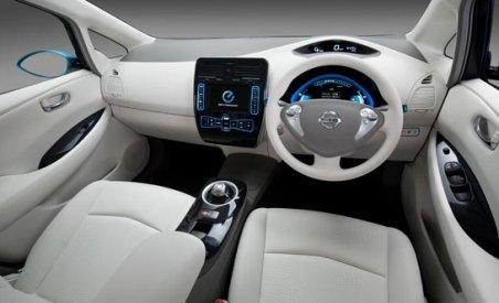 Maşini excentrice de la Nissan: Aer condiţionat cu vitamina C şi scaune antistres