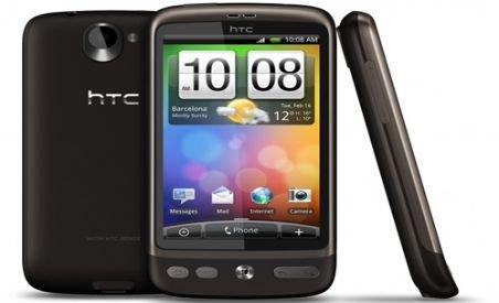 Update la platforma Android 2.2 pentru HTC Desire, din acest weekend