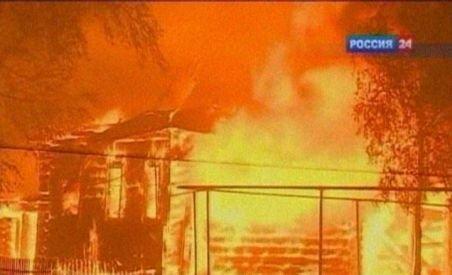 Incendiile de vegetaţie din Rusia s-au extins. 25 de oameni au murit şi peste 400 au fost răniţi (VIDEO)