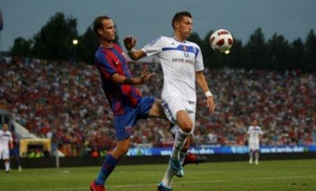 Steaua a revenit spectaculos şi a învins Craiova cu 2-1