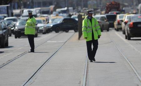 Radare în Capitală. Peste 100 de şoferi amendaţi în câteva ore