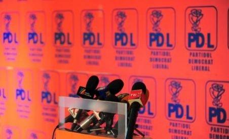 Liderii PDL susţin o conferinţă de presă la sediul partidului