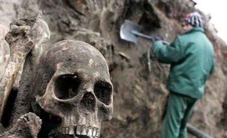 O groapă comună din al Doilea Război Mondial, descoperită în Slovenia