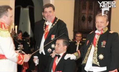Cavalerii de Malta din România şi Italia îşi aduc reciproc acuzaţii grave de înşelătorie şi evaziune (VIDEO)