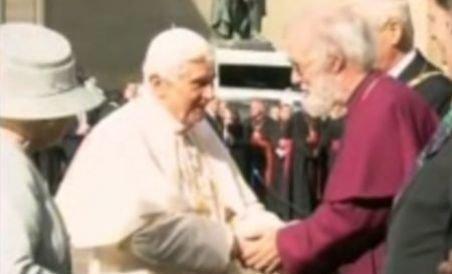 Vizită istorică a Papei Benedict al XVI-lea în Marea Britanie (VIDEO)
